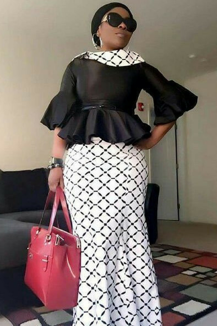 kaba and slit style for funerals in ghana african fashion ankara