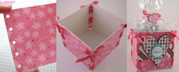 36 do it yourself gift box tutorials for your christmas presents 36 do it yourself gift box tutorials for your christmas presents solutioingenieria Gallery