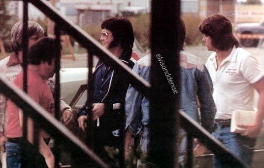 September 7, 1976. Elvis appears in the Conference... - Elvis never left