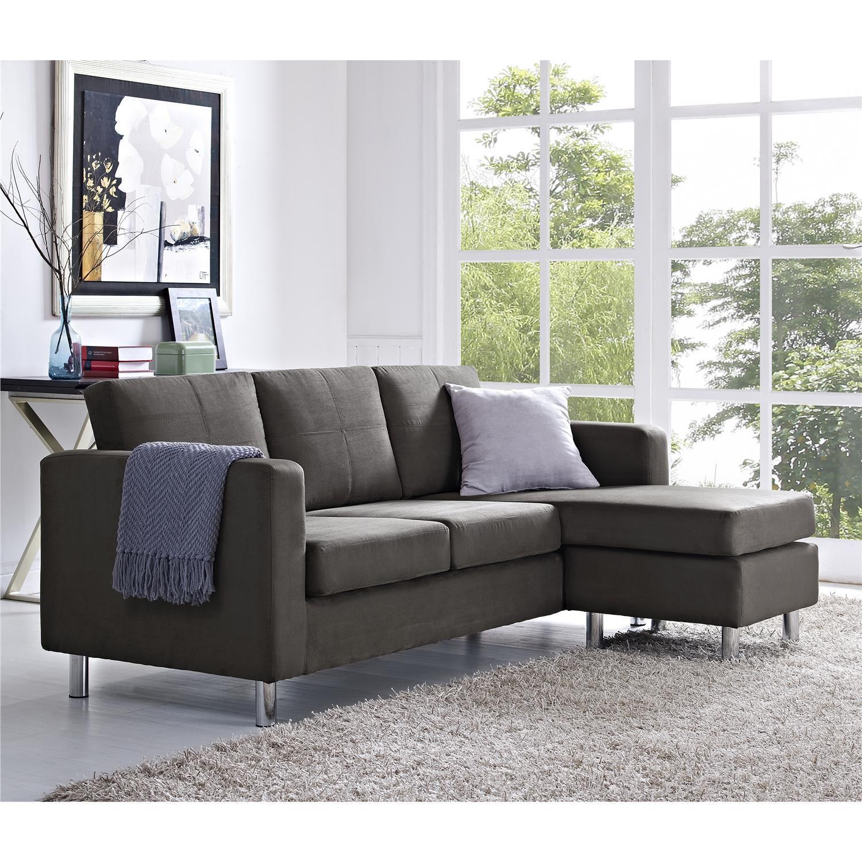 Fingerhut Dorel Asia Small Spaces Configurable Sectional Sofa
