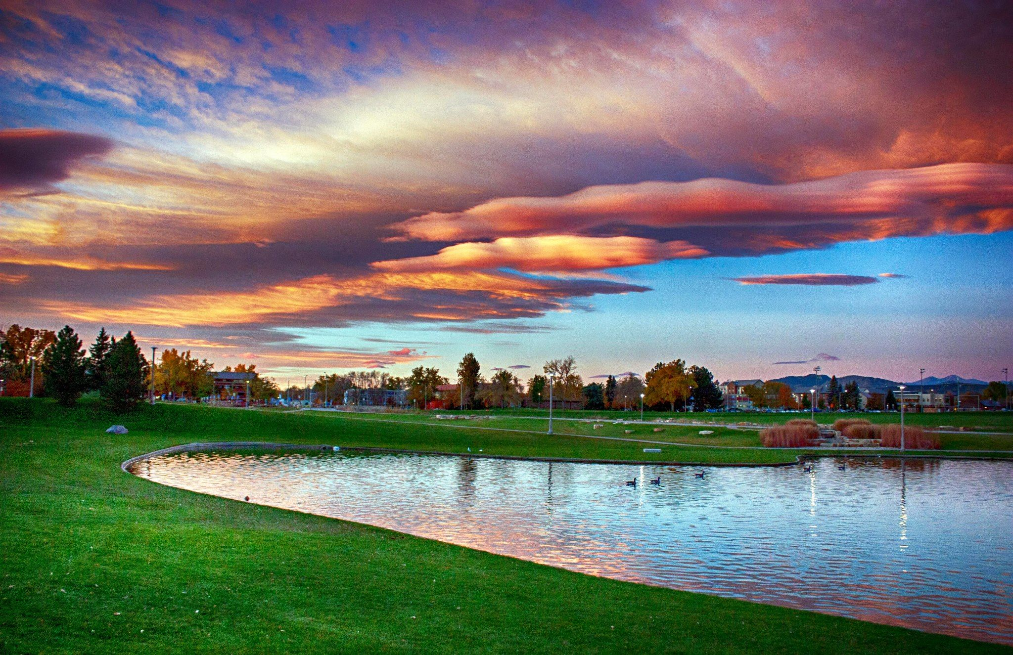 Colorado State University Campus October By Jrh