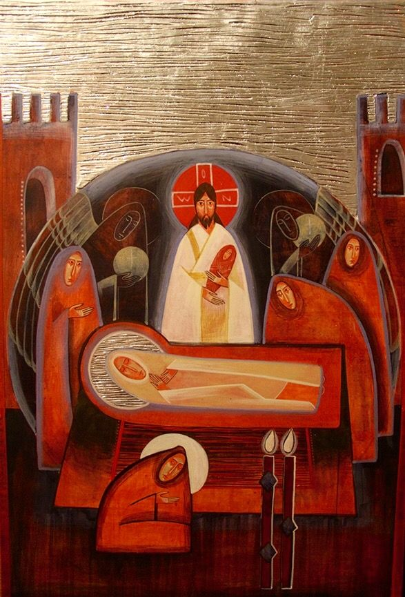 Dormition (contemporary) Anna Kolisnyk