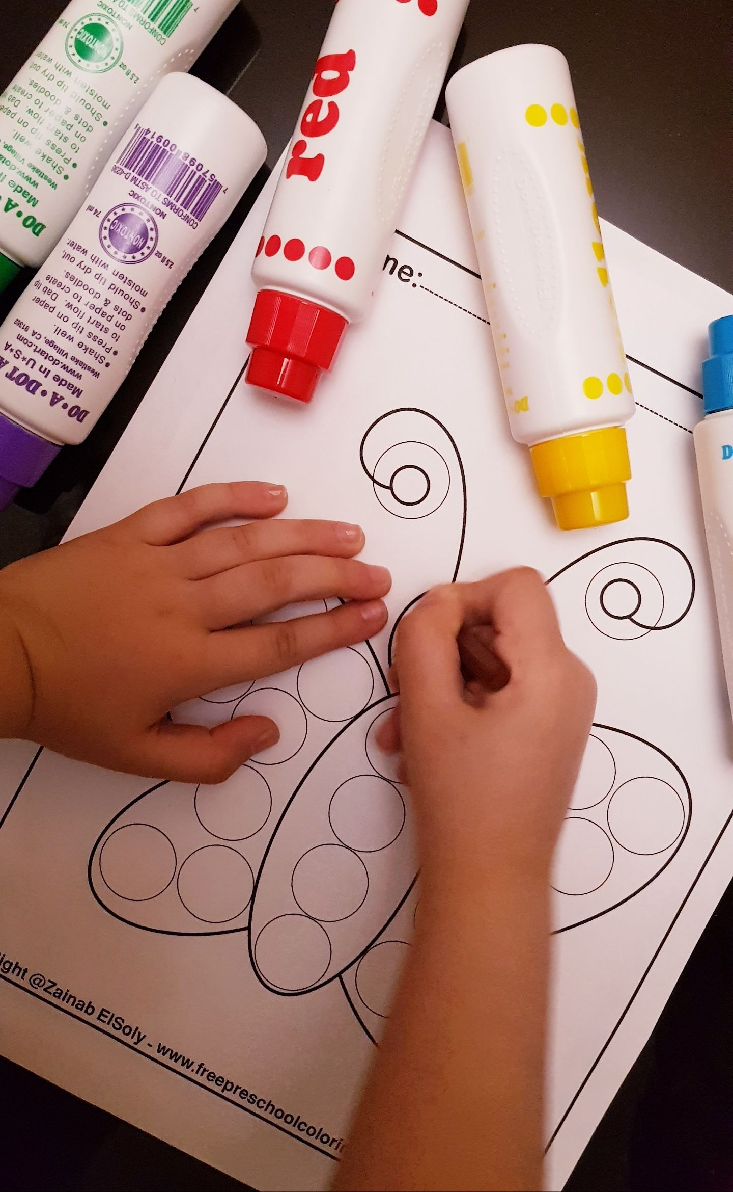 Spring Do A Dot Markers Activity Free Printable For Kids