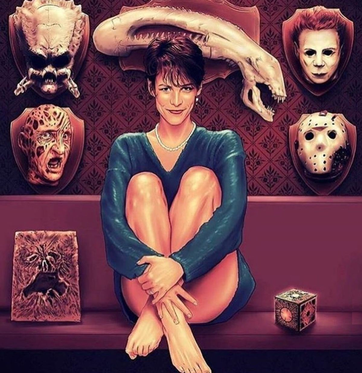 1980 S Horror With Images Horror Movie Art Horror Posters