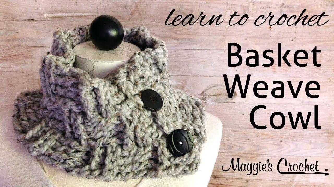 Basket Weave Cowl Free Crochet Pattern | Pinterest | Free crochet ...