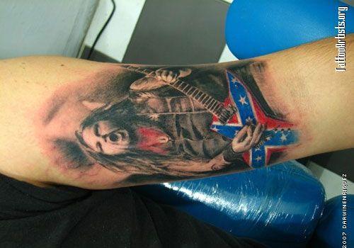 confederate flag tattoos google search confederate flag tattoos pinterest tattoo. Black Bedroom Furniture Sets. Home Design Ideas