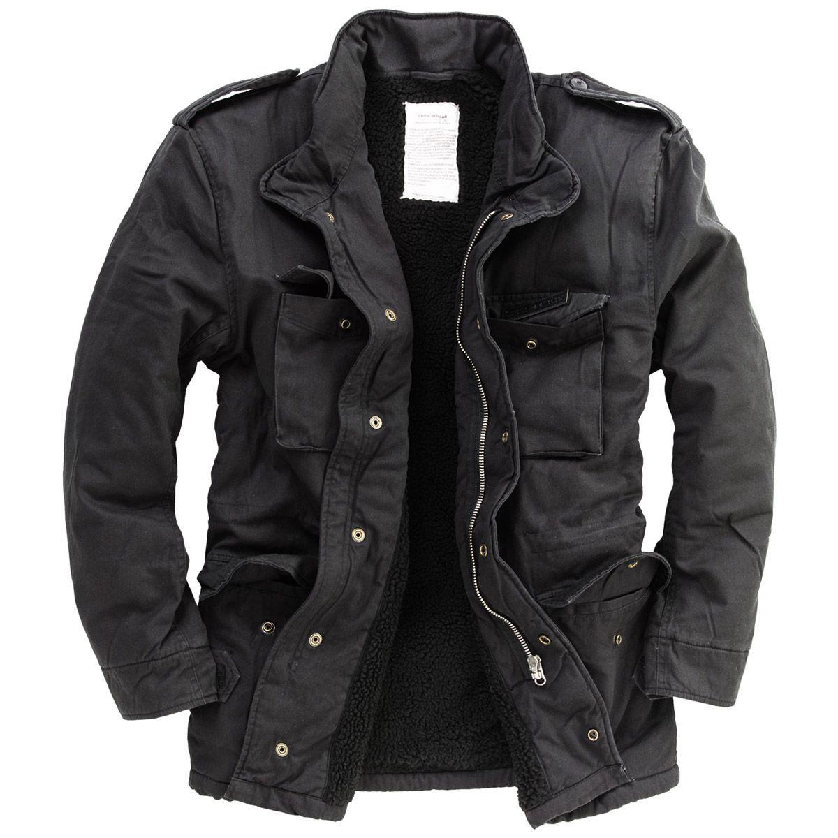 Teesar Tactical Smock Generation II Military Mens Jacket Army Hooded Coat Black