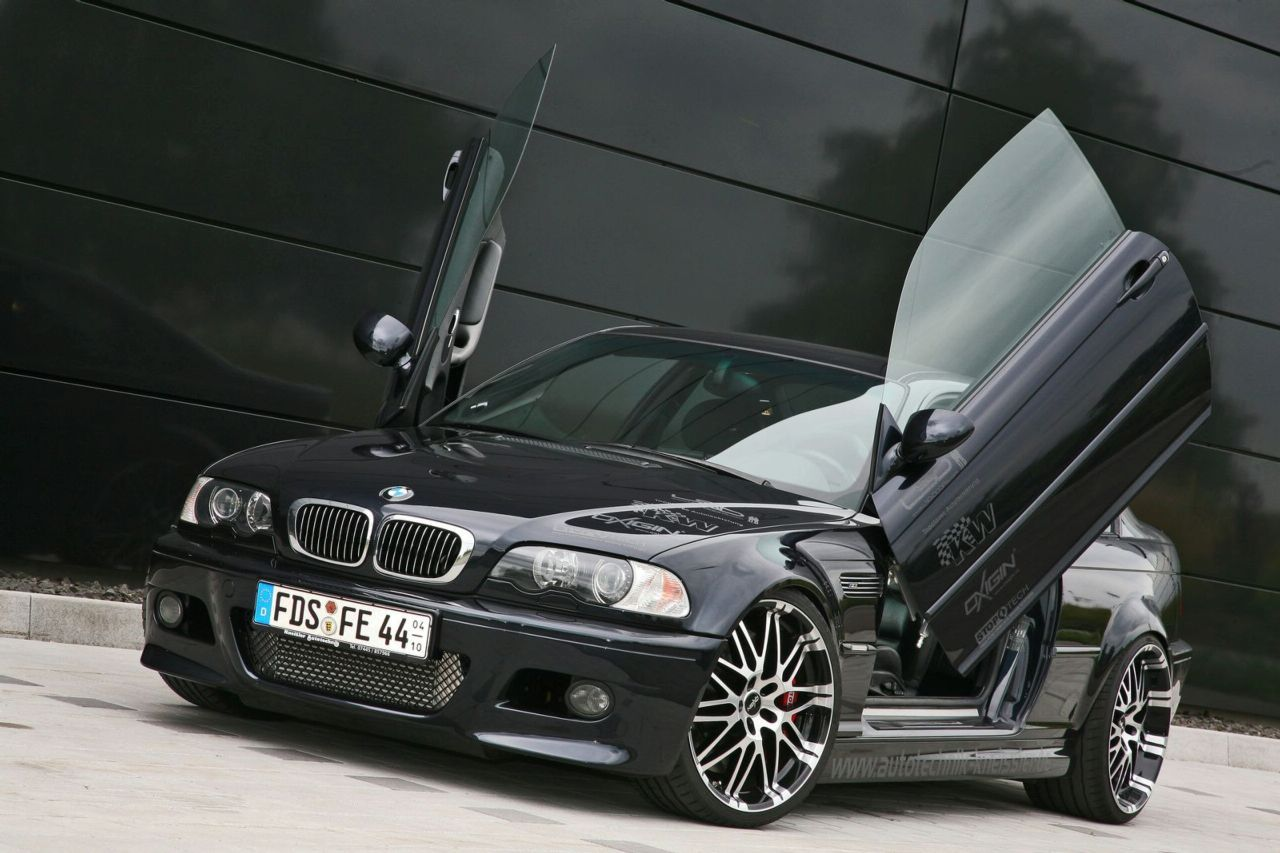 Bmw m3 with lambo doors