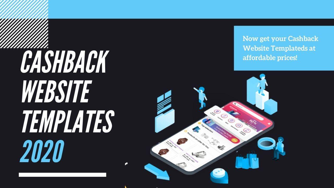 Eye Catching Cashback Website Templates 2020 Cashbackscript In 2020 Website Template Templates Cashback