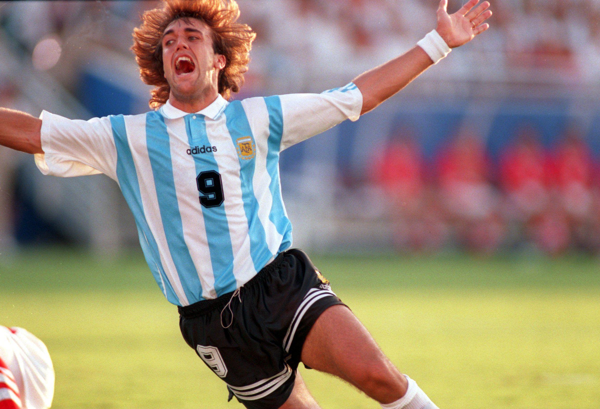 Gabriel Batistuta a.k.a. Batigol. | Sports | Pinterest ...