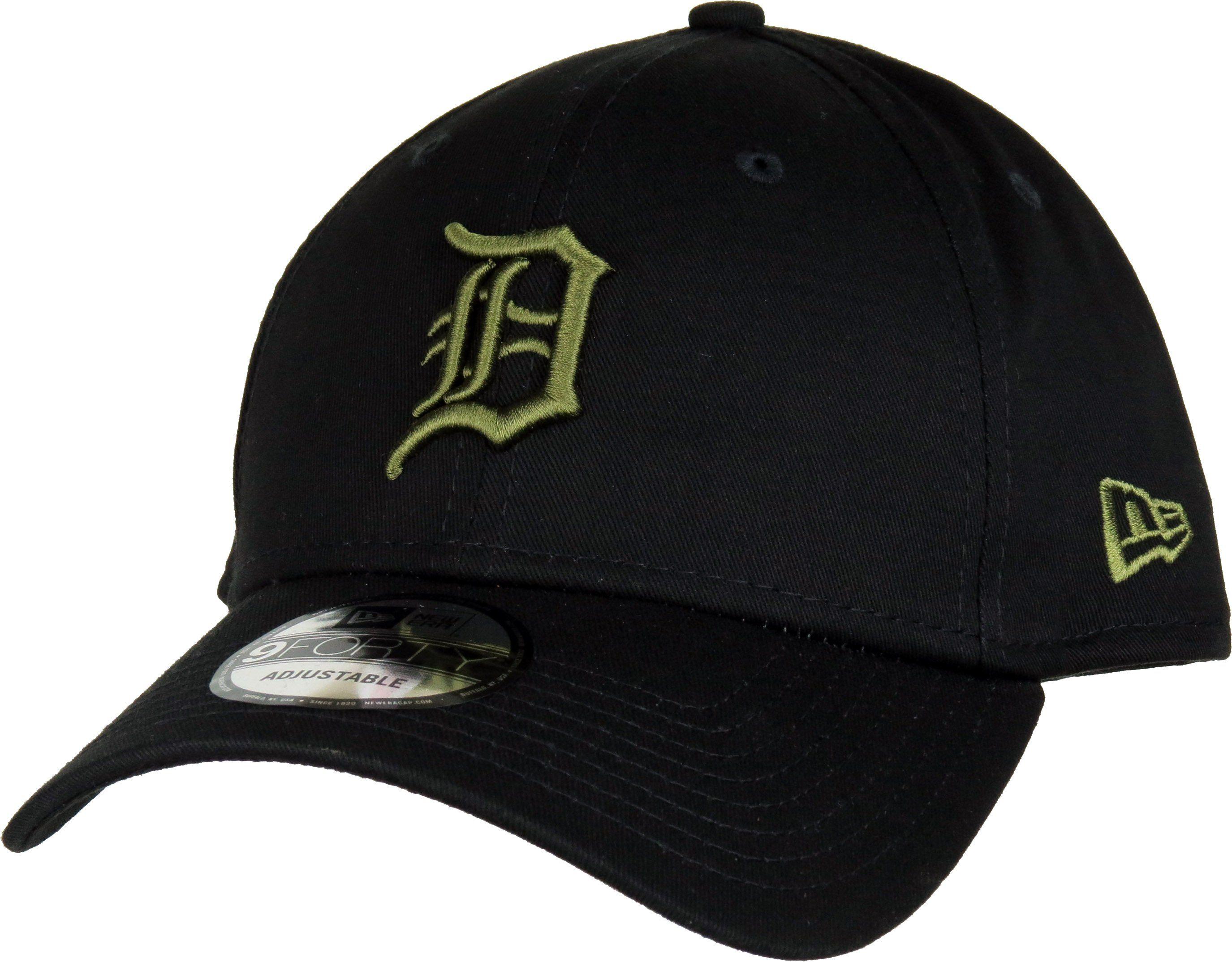 c55318e2922 New Era 940 League Essential Detroit Tigers Baseball Cap Black