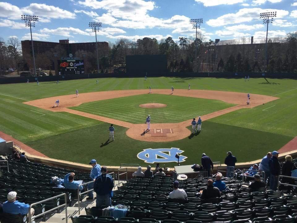 Pin By Keith Pickels On Unc Baseball College Baseball Baseball Field Baseball