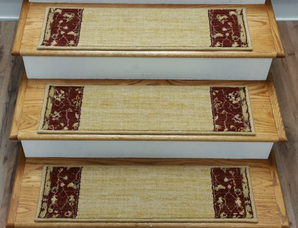 Best Casual Beige 30 X 9 Inches Carpet Stair Treads Stair Treads 400 x 300