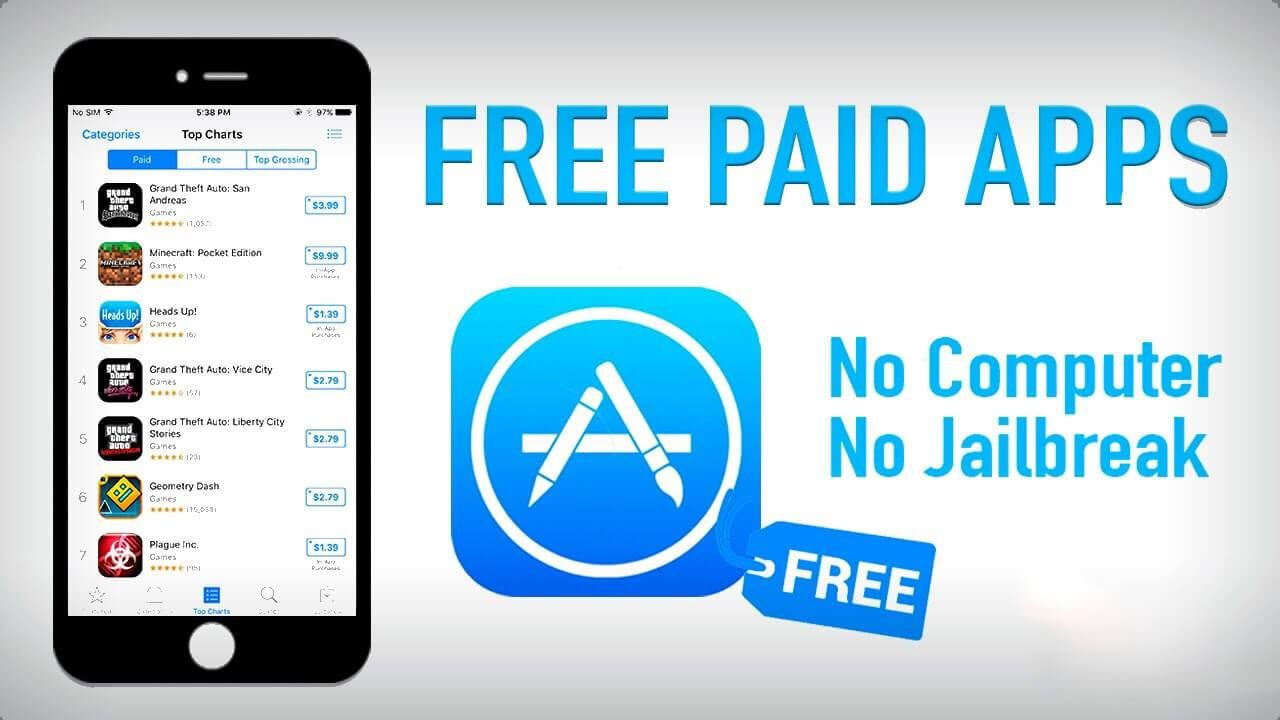 download paid apps for free iphone
