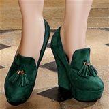 Escarpins women green heels 13 cm size 40, online buy Escarpins woman MODATOI