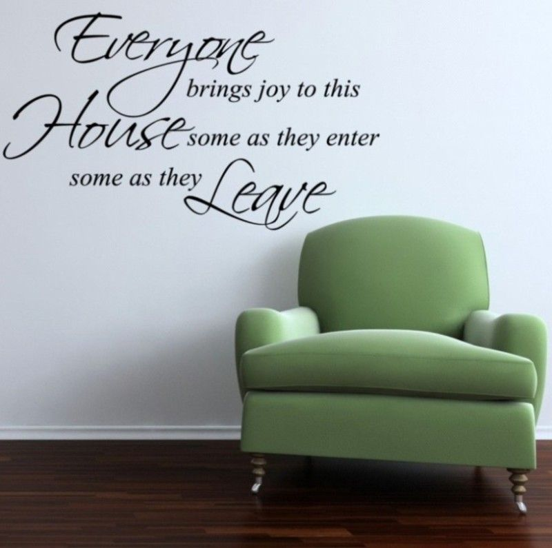 Everyone House Stickers Wall Decal Removable Art Vinyl Decor Home
