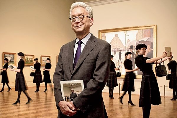 PEOPLE OF NOTE IN THE ART WORLD WHO NEED GLASSES (A Pinterest Project by Joseph Ernst) Douglas Druick - President of the Art Institute of Chicago