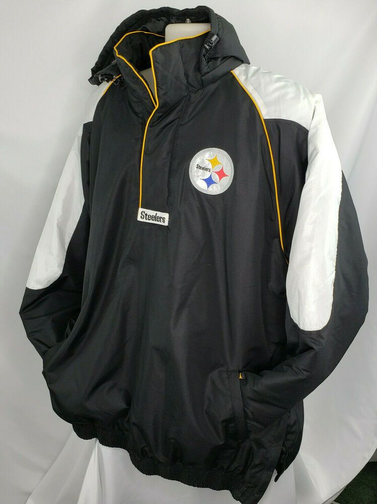 Details about nfl steelers 14 snap insulated pullover w