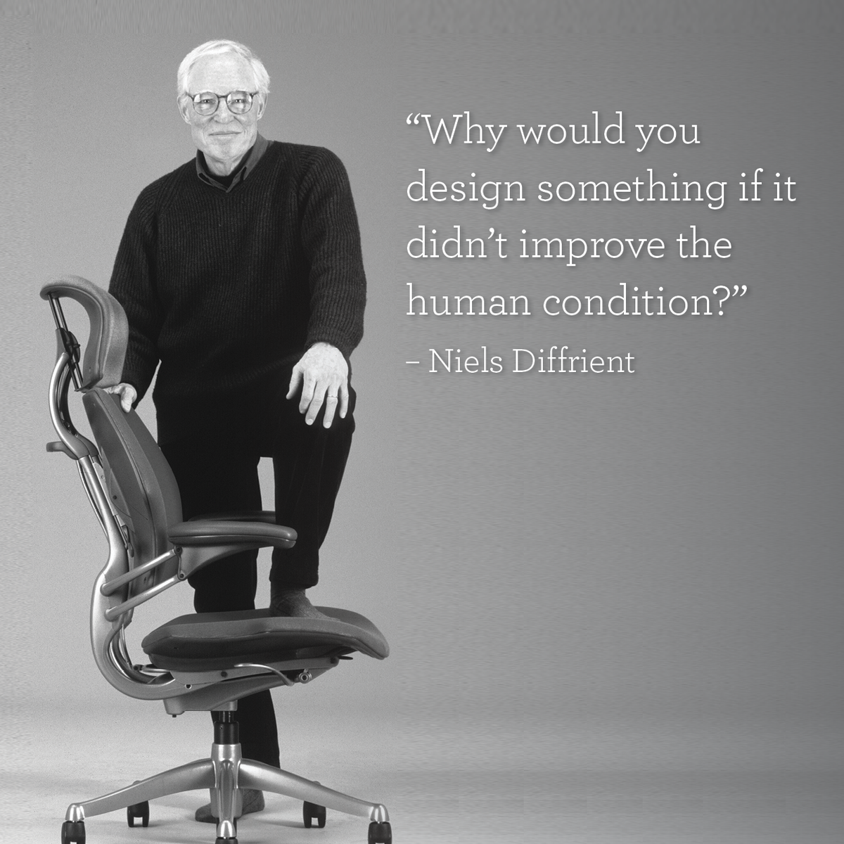 why would you design something if it didn t improve the human