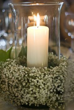 candle table decorations for weddings - Google Search