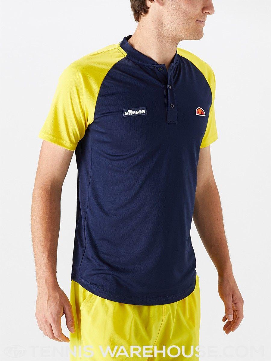 a6c0c91d7b Ellesse Men's Spring Hawk Polo | Men's Tennis Wear | Fashion | Polo ...
