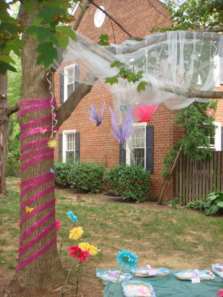 Enchanted Fairy Garden Party Birthday Party Ideas Sophia 6th
