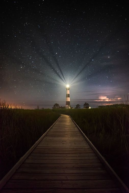 """""""Beacon"""" Bodie Island Lighthouse, OBX"""