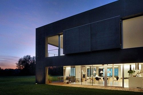 Safe House This Is A Project By Kwk Promes And It Is Located At - Smart-modern-residence-in-poland