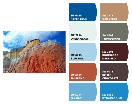 Echo Canyon In New Mexico Chipit Paint Colors From Chip It By Sherwin Williams