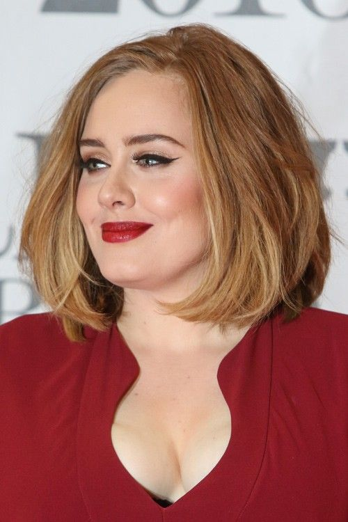 Pin By Beau Haley On Fat Face Haircuts In 2019 Adele