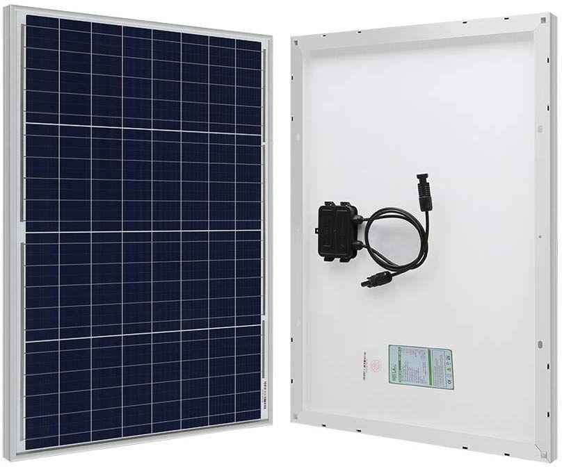 Hqst 50w 12v Polycrystalline Solar Panel High Efficiency Module Off Grid Pv Power For Battery Charging Boat C Solar Panels Monocrystalline Solar Panels Solar