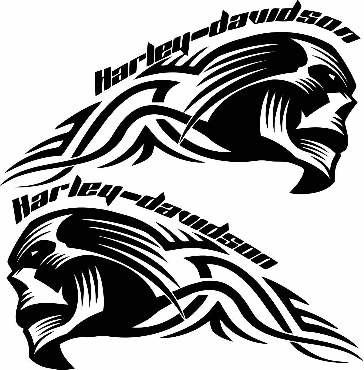 Cool For Helmet Stickers Cool For Helmet Stickers Vinyls - Harley davidsons motorcycles stickers