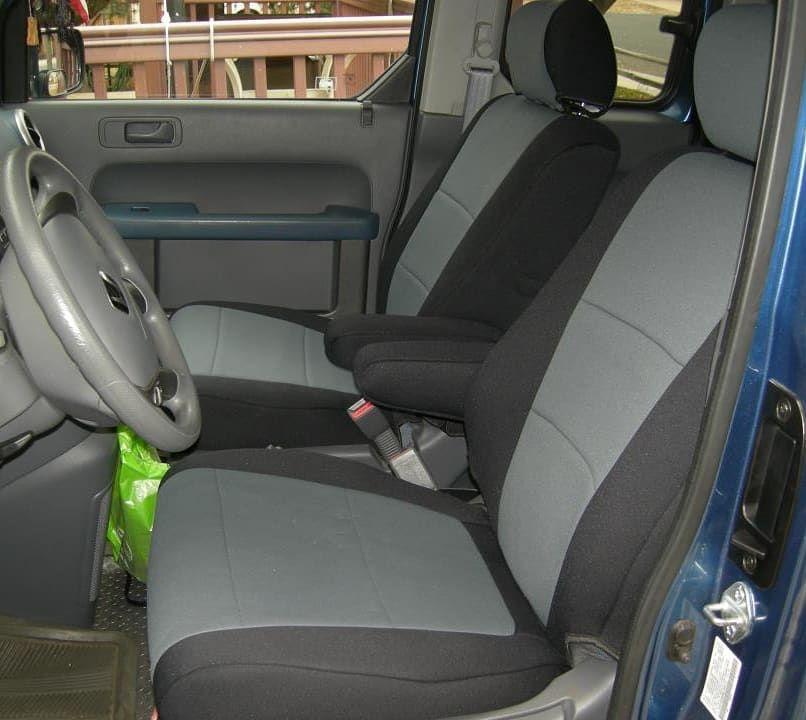 Premiumcovers On Instagram 2006 Honda Element Protected With A Set Of Coverking Genuine Neoprene Tailored Seat Covers Made Honda Element Seat Covers Honda