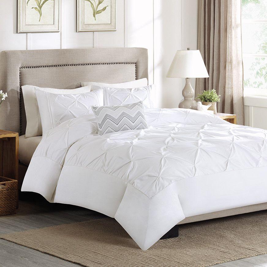 Madison Park Celine 4 Piece Duvet Cover Set Comforter Sets Bedding Sets Duvet Sets