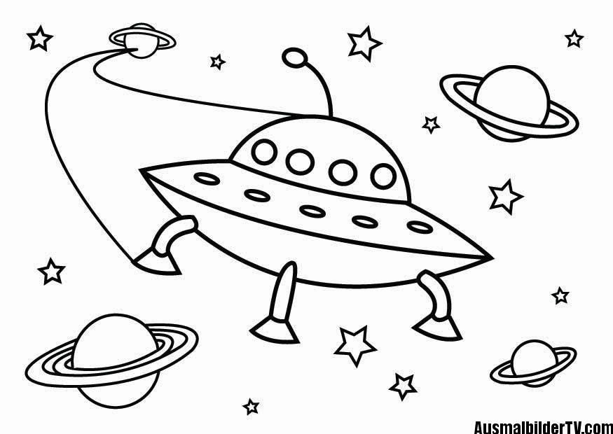 malvorlagen ufo | Malvorlagen | Pinterest | Weltall, Ausmalbilder ...