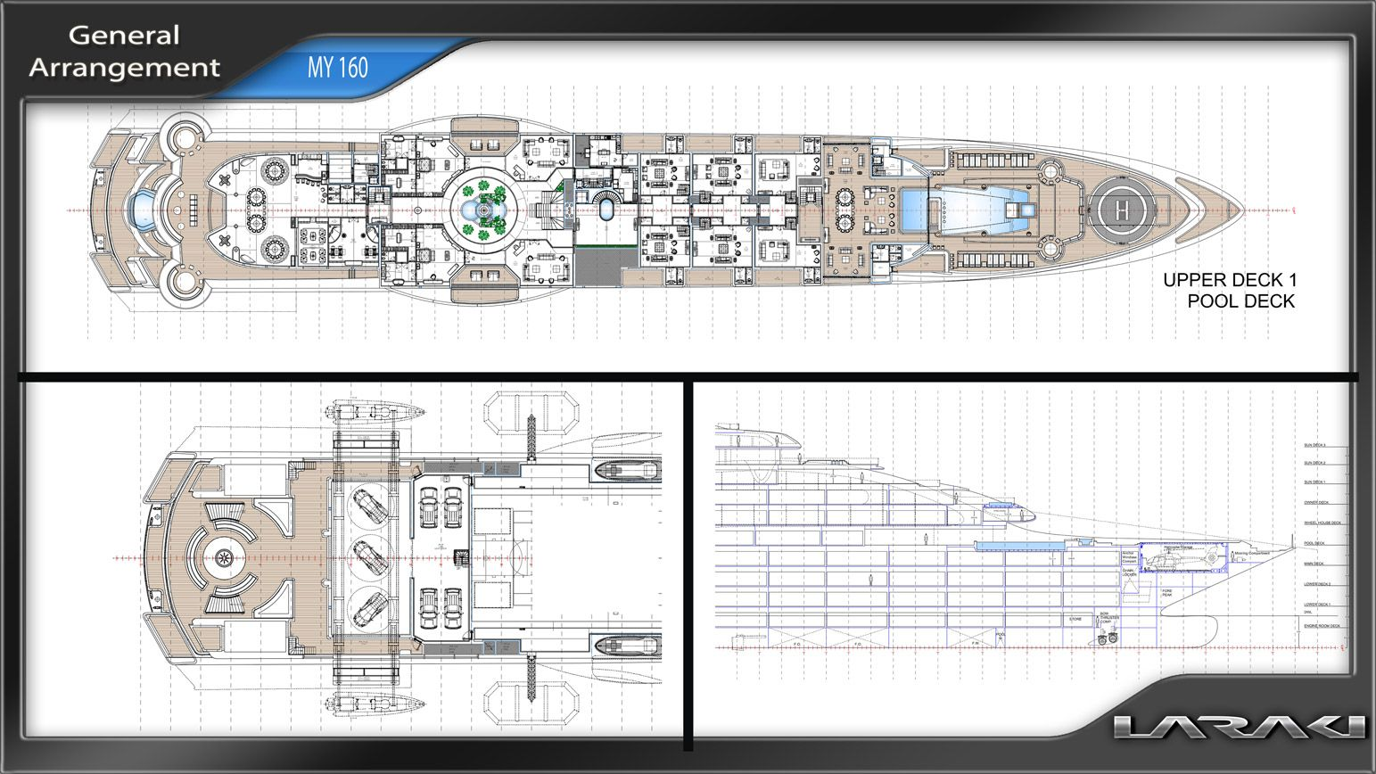 Laraki Yacht Design is undoubtedly able to conduct large ...