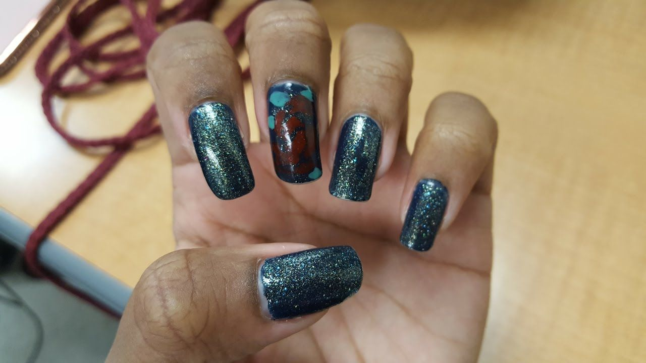 Beauty And The Beast Inspired Nail Art Inickel Channel