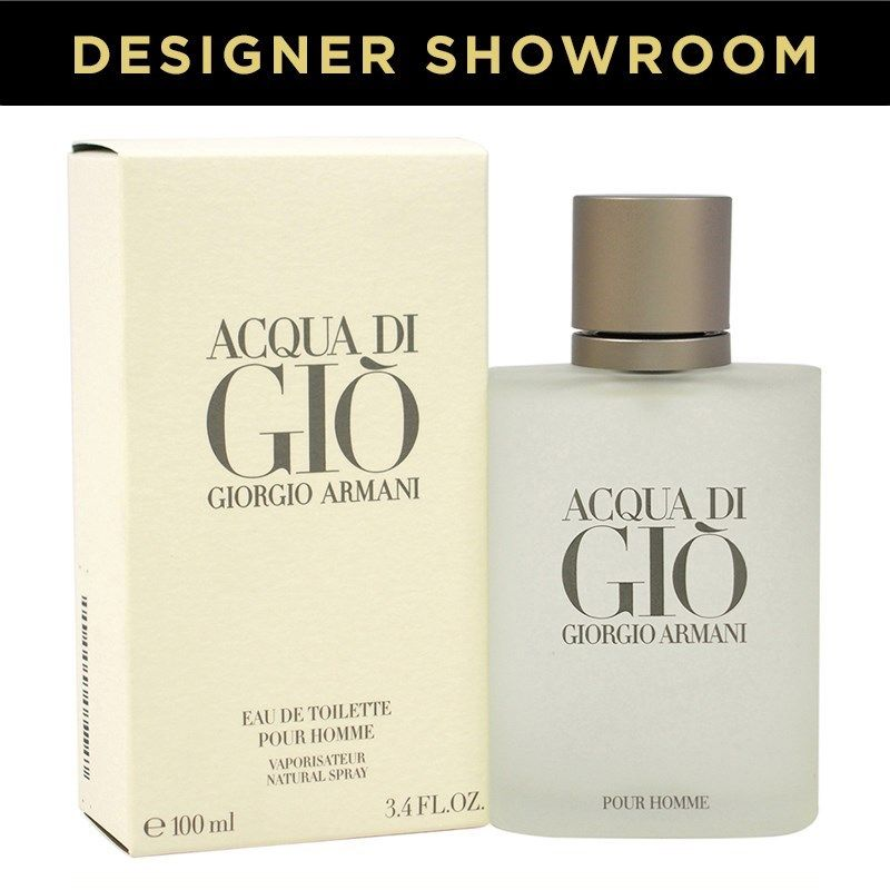 19c1b3c9f9be Giorgio Armani Acqua di Gio for Men (3.4oz Eau de Toilette Spray ...