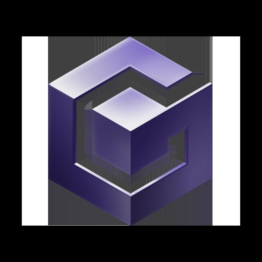 Retroarch Gamecube Cube Games Logo Sticker