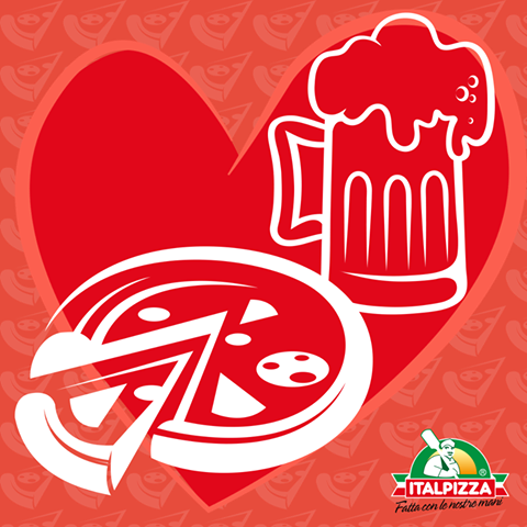 Comincia ufficialmente l'Oktoberfest 2015!  Noi lo festeggiamo con la coppia più bella del mondo: pizza + birra http://www.italpizza.it/i-nostri-prodotti/