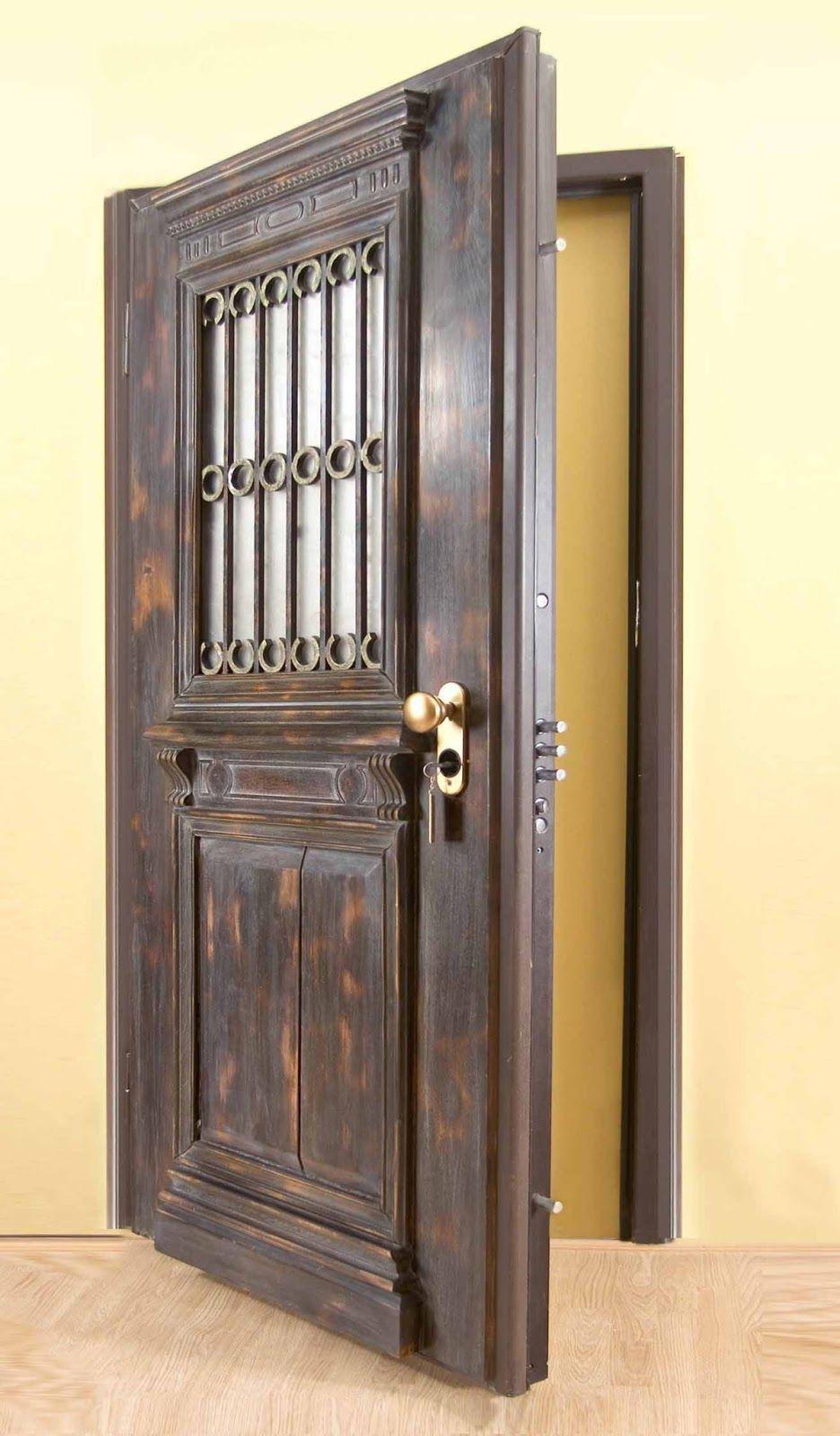 اجمل اشكال الابواب الخشبية Home Decor Decor Furniture