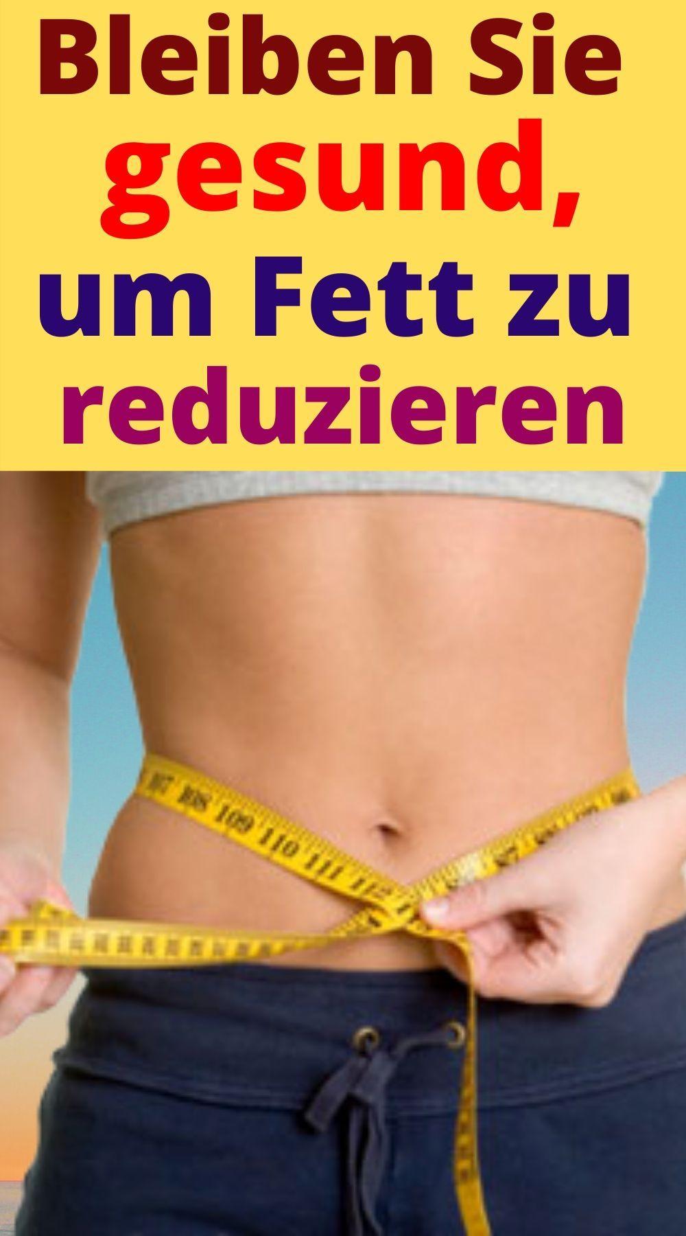 Diäten verlieren Gewicht und Volumen