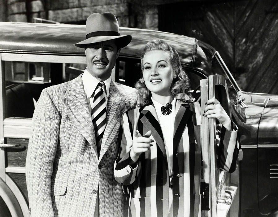 1940 Don Ameche with Betty Grable in Down Argentina Way