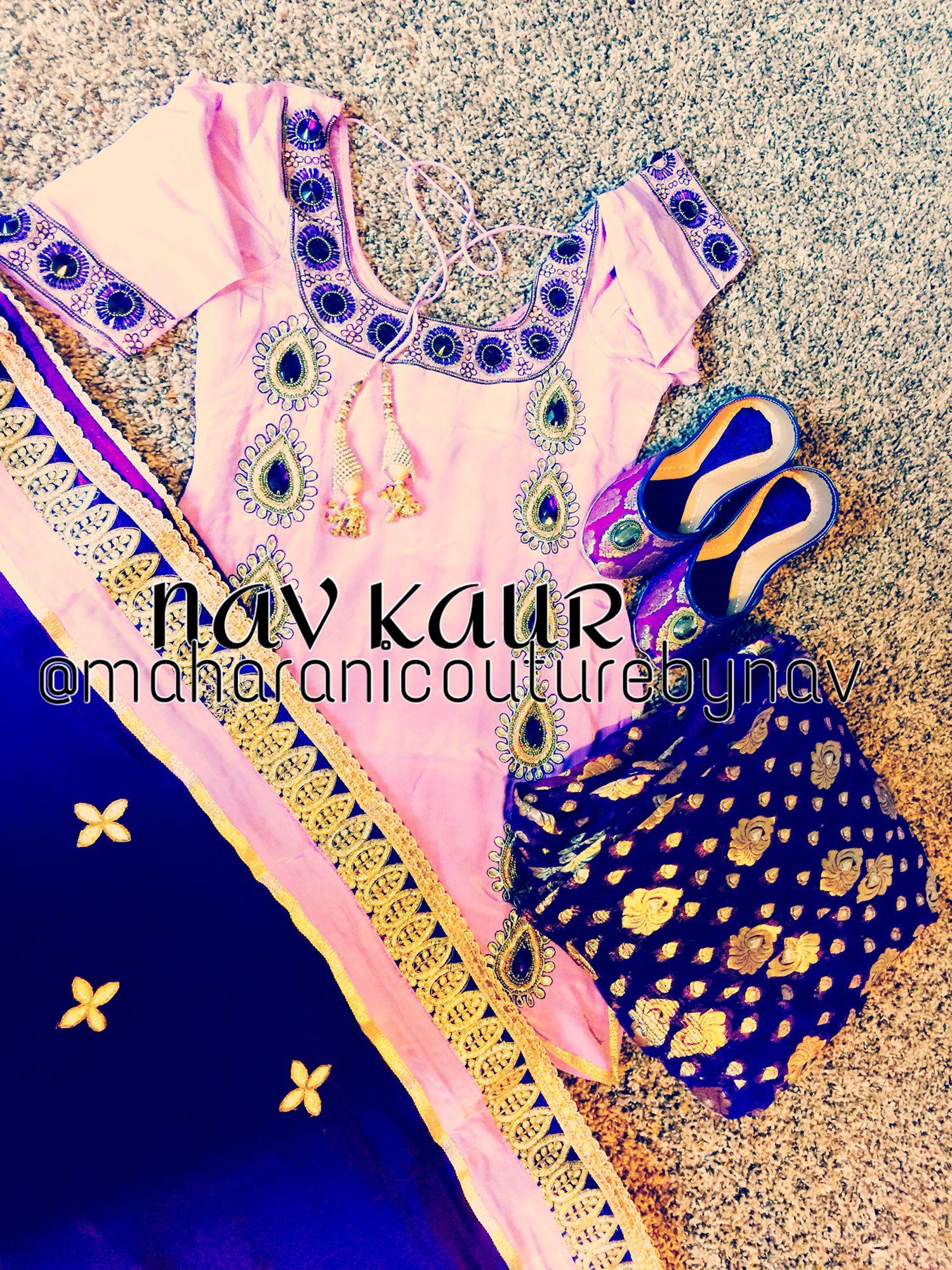 Patiala Suit, Punjabi Salwar Suits, Salwar Kameez, Stone Work, Pink