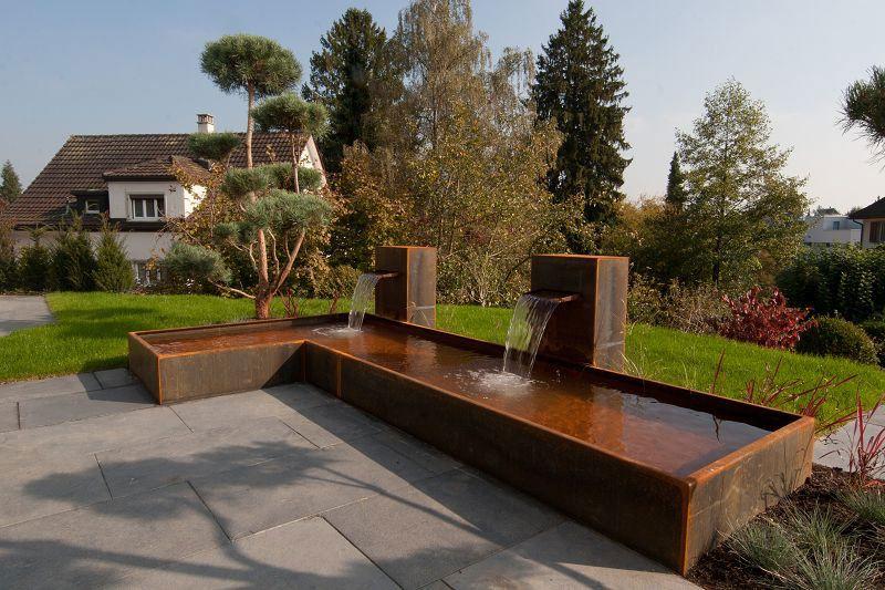 garten cortenstahl google suche garden pinterest. Black Bedroom Furniture Sets. Home Design Ideas