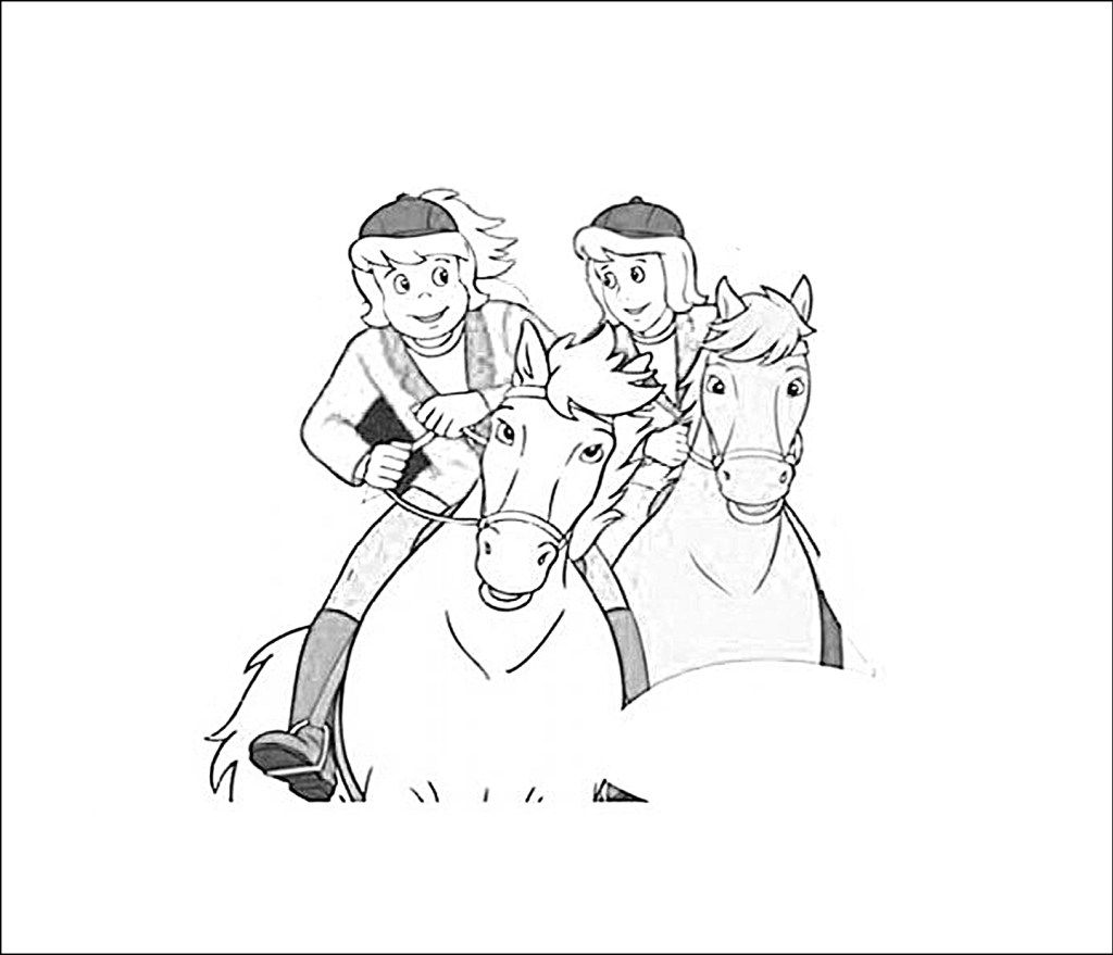 Bibi Und Tina Malvorlagen Pferde Ausmalbilder