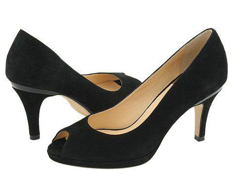 Cole Haan Carma OT Air Pump | Pumps, Open toed shoes, Suede