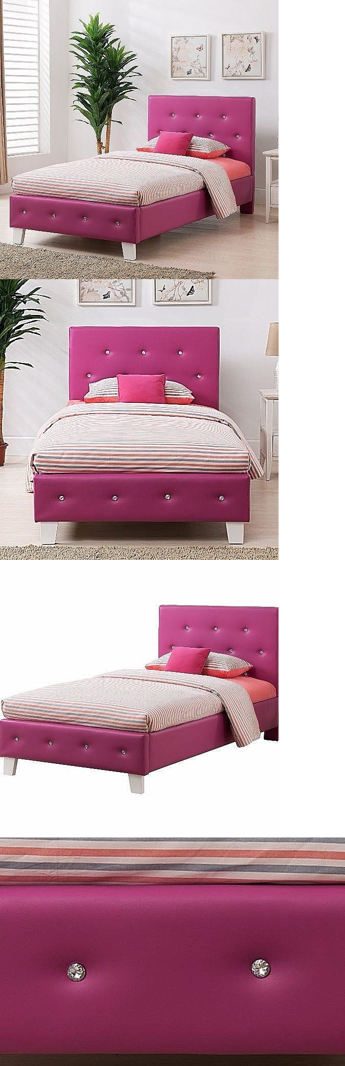 Kids at home bedroom furniture for teen girls kids twin panel bed