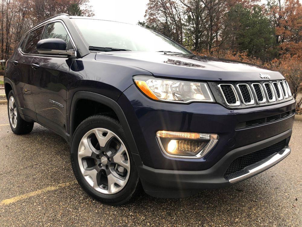 eBay 2018 Jeep Compass Limited 2018 Jeep Compass 4X4