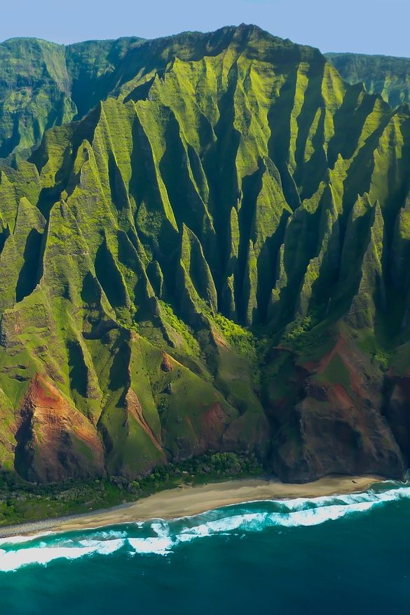 Na Pali Coast Kauai Hawaii America the Beautiful